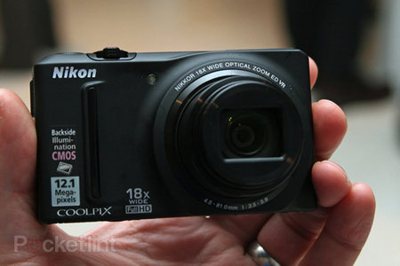 Nikon Coolpix S9100 hands-on
