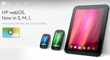 HP Veer, Pre3 and TouchPad webOS devices unveiled