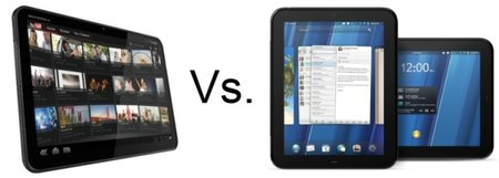 HP TouchPad vs Motorola Xoom