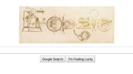 Google Doodle celebrates Thomas Edison - photo 2