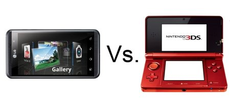 LG Optimus 3D vs Nintendo 3DS