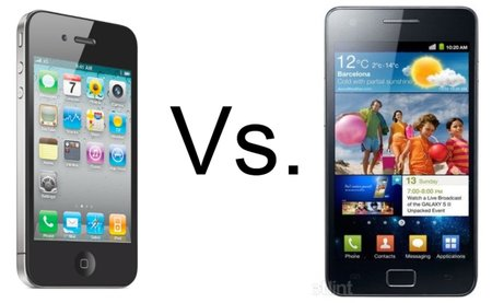 iPhone 4 vs Samsung Galaxy S II