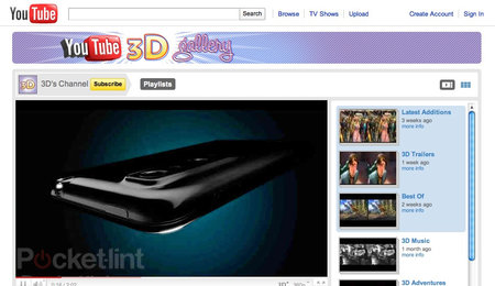 LG Optimus 3D YouTube deal gives you movie uploads on the go
