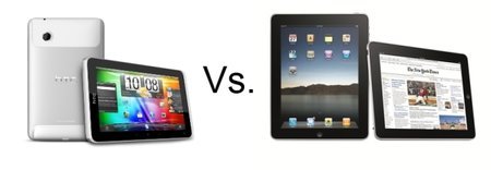 HTC Flyer vs Apple iPad