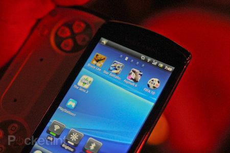 Sony Ericsson Xperia Play: The first five games