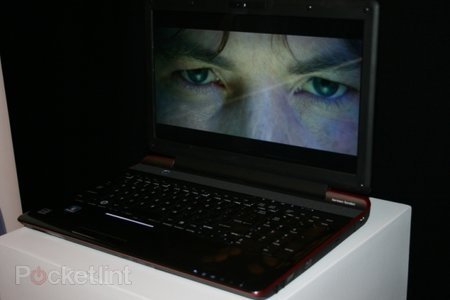 Toshiba glasses-free 3D laptop eyes-on