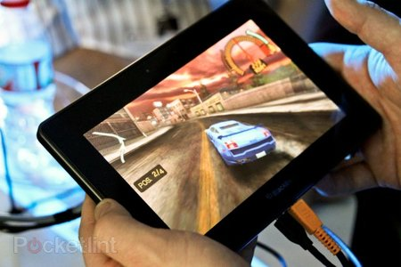 EA Need for Speed Underground on BlackBerry Playbook hands-on