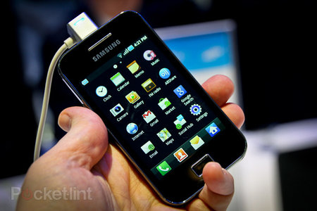 Samsung Galaxy Ace hands-on
