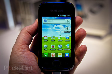 Samsung Galaxy Gio hands-on
