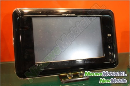 Sony Ericsson 4G tablet prototype gives us a tasteful glimpse