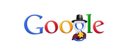 Happy St David's Day from Google