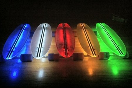Light the way with the Clear29 LED skateboard