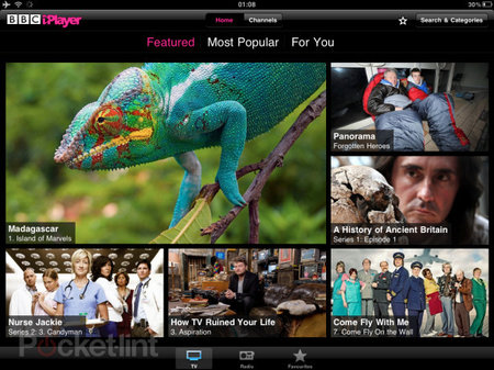 International BBC iPlayer iPad app coming in 2011