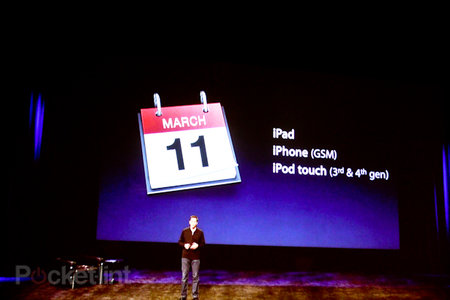 iOS 4.3 for iPhone, iPad, and iPod touch coming 11 March