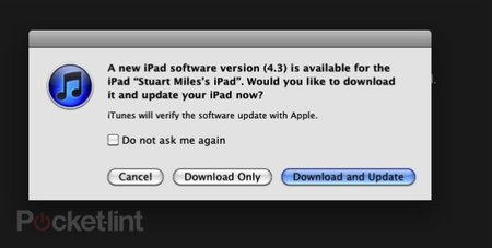 iOS 4.3 live and ready for download