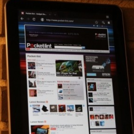 VIDEO: Samsung Galaxy Tab 10.1 Honeycomb action
