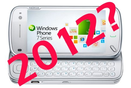 Nokia Windows Phone 7 devices delayed until 2012?