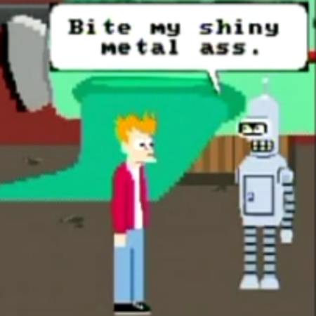 VIDEO: Futurama - the NES game