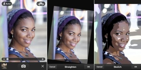 Adobe Photoshop Express 2.0 adds Camera Pack option