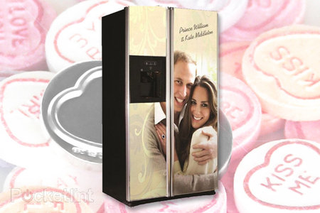 Royal Wedding GE fridge celebrates Prince William and Kate Middleton with class