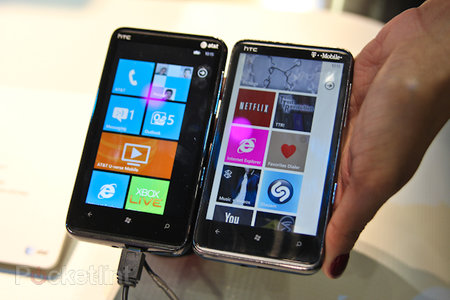 HTC HD7S vs HD7: Who's got the brighter screen?