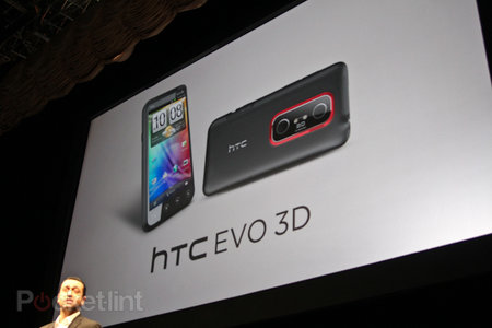 Sprint HTC EVO 3D official