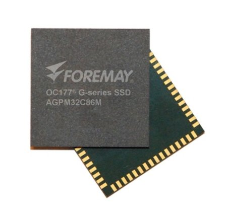 Formay disk-on-chip SSD holds 64GB on size of a quarter