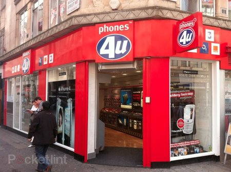 Phones4U: Just one iPad 2 per store...