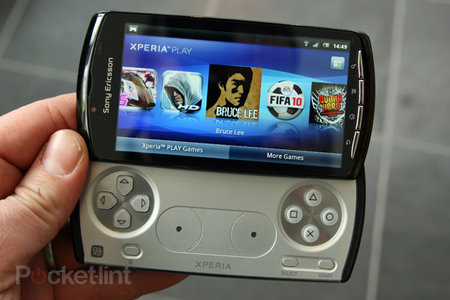 Sony Ericsson Xperia Play: the games