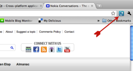 Nokia Drop lets you send stuff to your phone from your browser
