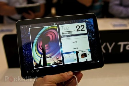 Samsung Galaxy Tab TouchWiz UX interface walk-through