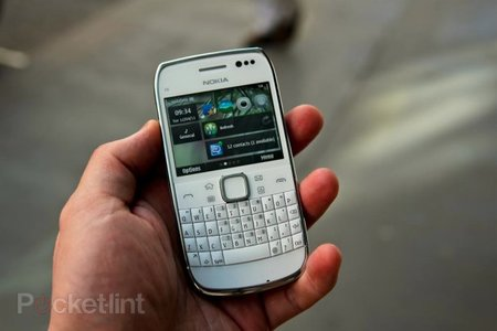 Nokia E6 hands-on