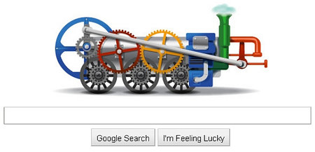 New Google doodle celebrates birthday of inventor Richard Trevithick