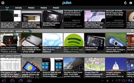 APP OF THE DAY: Pulse review (Android Honeycomb)
