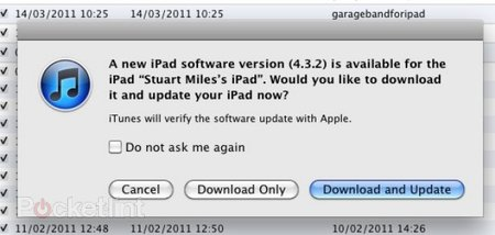 iOS 4.3.2 update now live to quell your iPhone, iPad, iPod updating urges