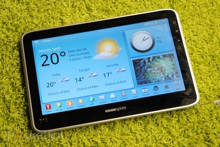 Hannspree SN101T1 Froyo tablet hands-on