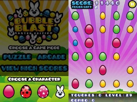 APP OF THE DAY: Bubble Blast Easter review (Android) - photo 3