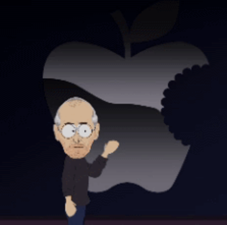 VIDEO: Steve Jobs Apple keynote....South Park stylee