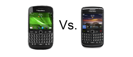 BlackBerry Bold 9900 vs BlackBerry Bold 9780