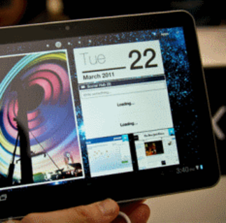 VIDEO: Samsung Galaxy Tab 8.9 up and running
