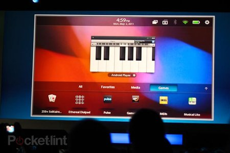 Android for PlayBook demoed (video)