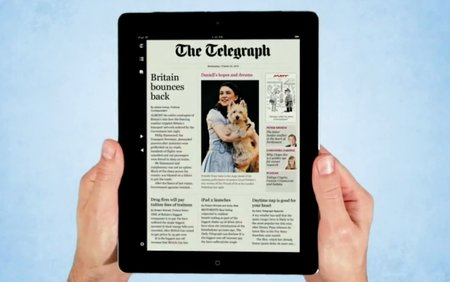 Read all about it....Telegraph launches premium iPad app