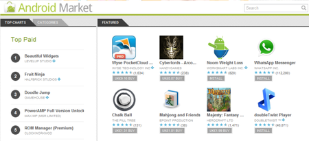 Google spring cleaning brings improved Android Market and Chrome Web Store