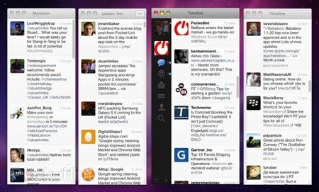 Twitter for Mac updated, introduces TweetDeck style windows