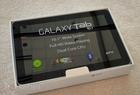 Samsung Galaxy Tab 10.1 (Google I/O edition) hands-on