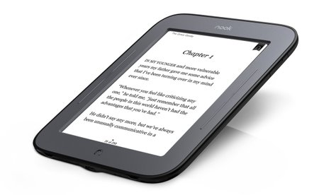 All-new Nook touches down for a spot of reading