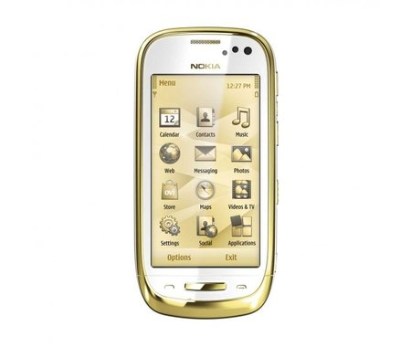 Nokia Oro: A C7 with added bling - photo 3