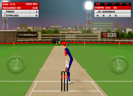 APP OF THE DAY: Stick Cricket (iPad) - photo 3