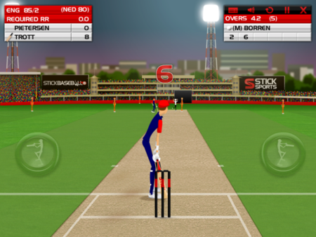 APP OF THE DAY: Stick Cricket (iPad) - photo 4