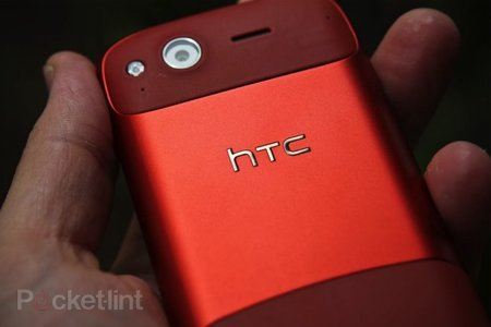 Red HTC Desire S hands-on